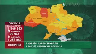 Коронавірус в Украі ні статистика за 21 березня