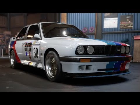BMW M3 E30: An Ultimate Driving Machine - Need For Speed Payback