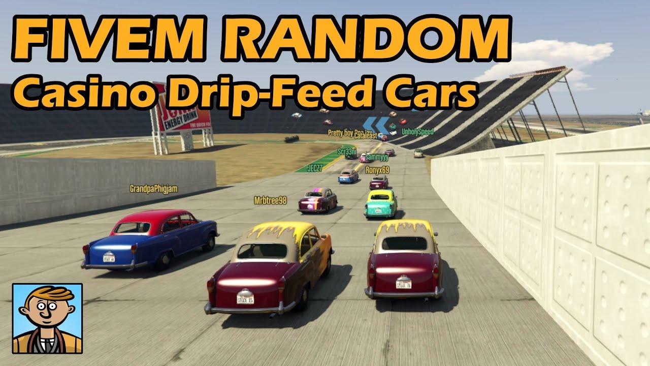 Random Race With Casino DLC Drip-Feed Cars - GTA FiveM Unique Racing Live  #36