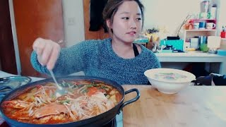 How to make Hangover Soup (Blue Crab Stew)