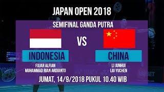 Download Video Jadwal Live Semifinal Ganda Putra, Fajar/Rian Vs Junhui/Liu Yuchen, Cina di Japan Open 2018 MP3 3GP MP4