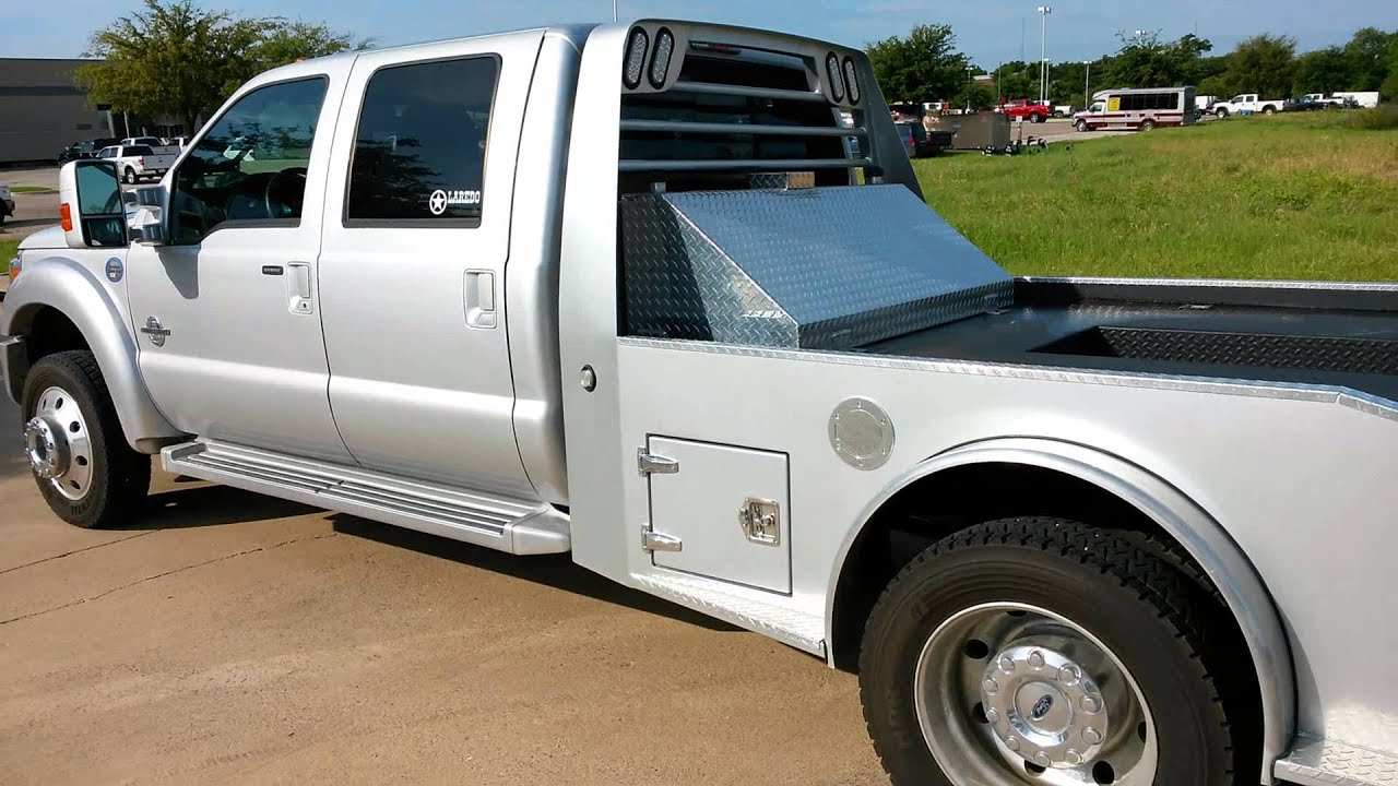 silver 2014 ford f550 lariat 4x4 laredo hauler air ride tdy sales [ 1920 x 1080 Pixel ]