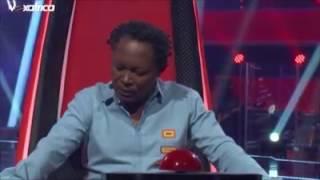Busine, jeune femme Gabonaise interprète
