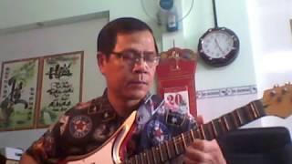 Guitar phím lõm bài Nối lại tình xưa