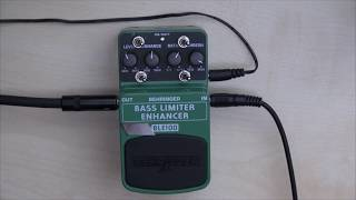 Circuit Bending: Behringer BLE100 - Bass Limiter Enhancer