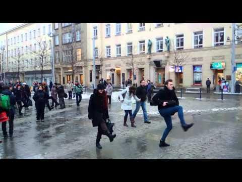 Silly Walk v Brně
