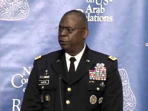 Keynote Address by General Lloyd Austin III at the 2013 Arab-U.S. Policymakers Conference