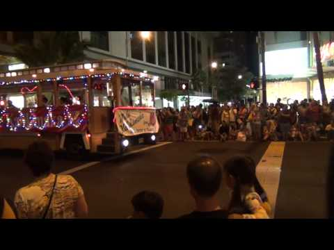 Waikiki Holiday Parade 2015