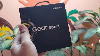 Samsung Gear Sport Unboxing and First Look HINDI