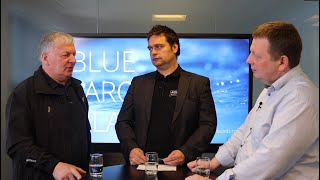 BFI kjak: Frimodt Rasmussen, KSS, og Eyðun Hansen, ETV