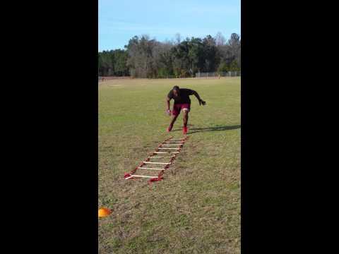 Alvin Brown ladder drill