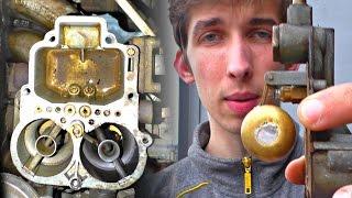 видео Как своими руками провести ремонт карбюратора ваз 2106