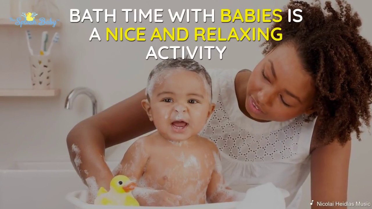 The Splash Baby - Bathtub Splash Guard for Kids! - YouTube