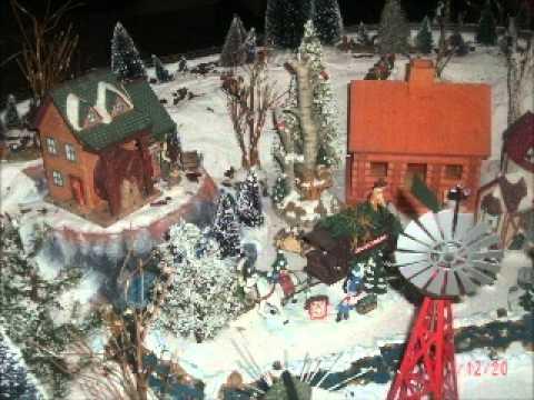 dawns christmas village.wmv