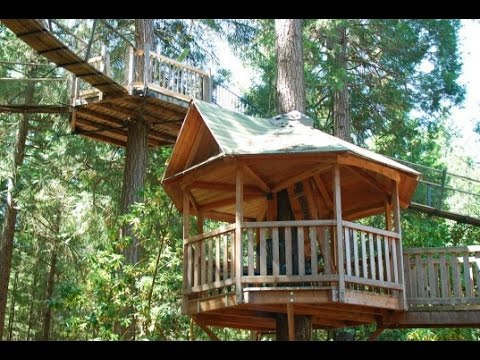 Oregon's Out'n'About Treehouse 'Treesort' has the World's Highest Concentration of Treehouses
