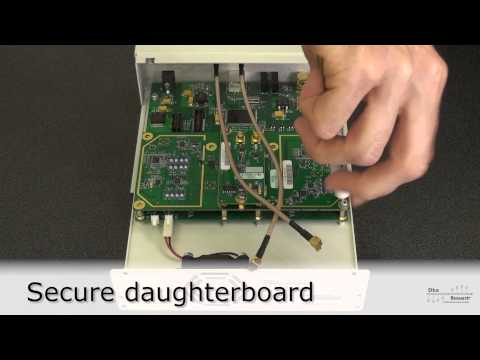 Assembling your USRP Instant SDR Kit - YouTube