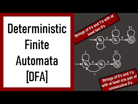 Automata Theory - Lecture 1 DFAs