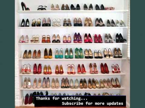 Wall Storage Shelves Ideas | Shelving For Shoes - YouTube