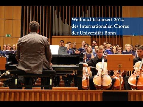 Weihnachtskonzert 2014 des Internationalen Chores der Uni Bonn