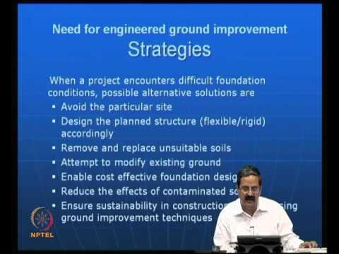 Mod-01 Lec-01 Need for Ground Improvement