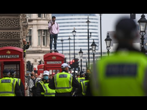 British COVID lockdown is 'really disturbing'