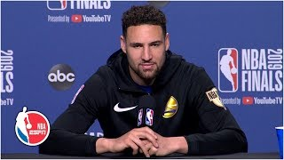 Klay Thompson: 'You're just going to see a resilient Warriors team' in Game 5 | 2019 NBA Finals