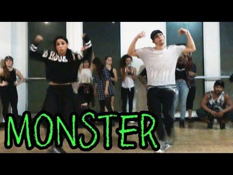 MONSTER - @MeekMill Dance Video | @MattSteffanina Choreography (ADV Hip Hop Class)
