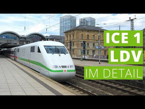 Die 1. ICE werden noch länger unterwegs sein | Der modernisierte ICE 1 im Detail