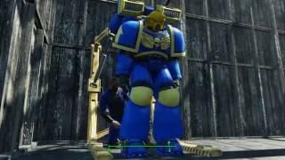 Fallout 4 - The Space Marine Mod Showcase