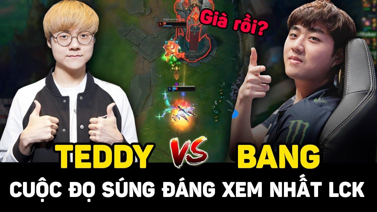 T1 Teddy vs AF Bang - Kèo đấu súng đỉnh cao, siêu máu lửa của những ông trùm Xạ Thủ LCK