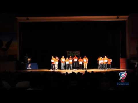 Marie Reed Elementary School performs at 2016 Poetry Slam!
