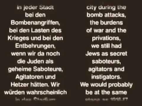 Heinrich Himmler Admits to the Nazi Holocaust