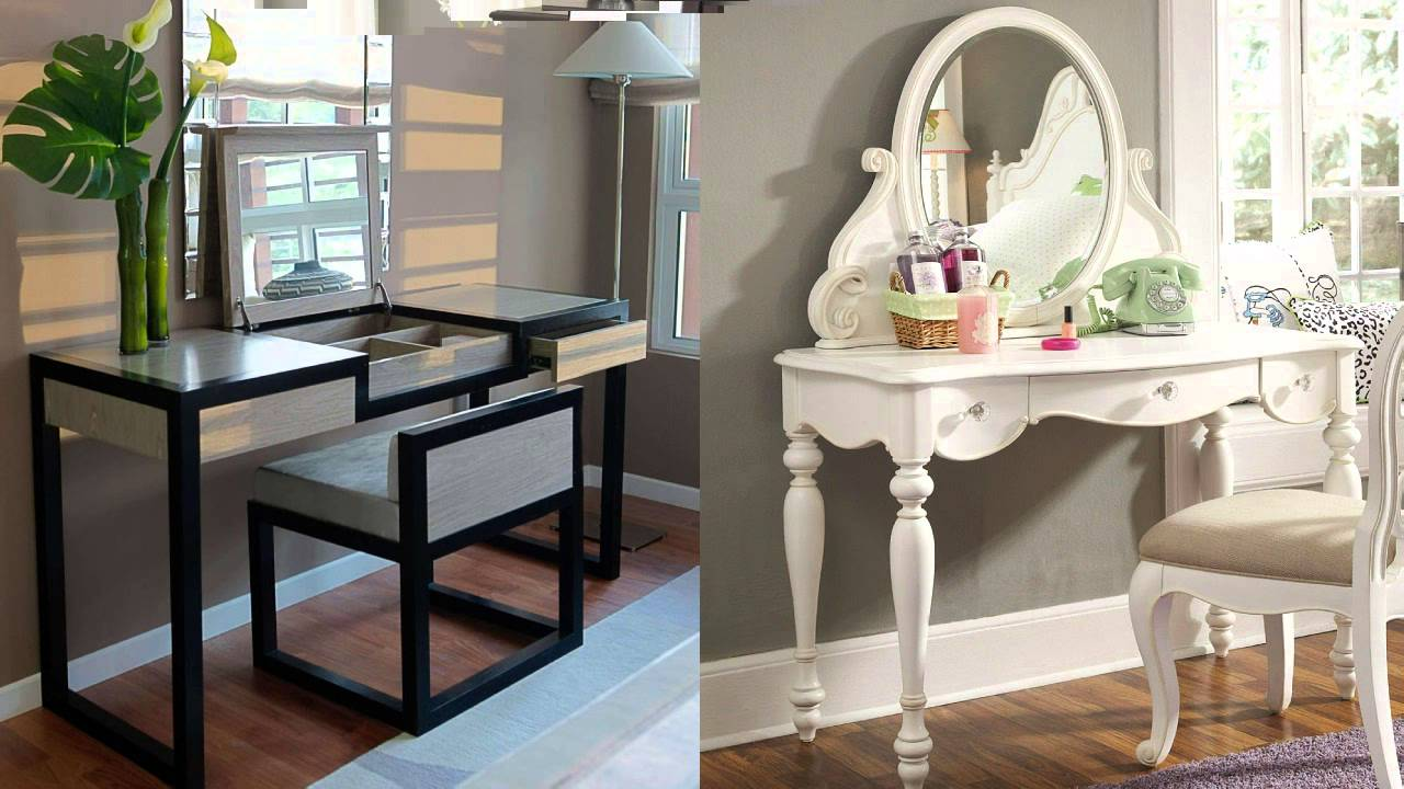 Amazing Bedroom Vanity Table And Chair Ideas YouTube - Vanity table