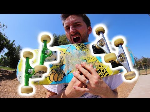 THE CRAZY 4 STAGGERED TRUCKS BOARD | STUPID SKATE EP 103