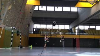 13Ring passing world record! 171 catches