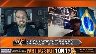 Gleidson DeJesus talks Titan FC title fight Nov. 17 against Jose Shorty Torres