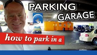 How to Park in a Parking Lot, Car Park, Parking Garage, or Enclosed Structure | Learn to Drive Smart