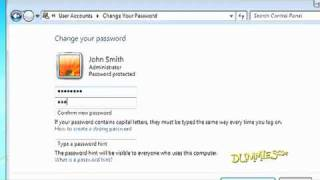 How to Create a User Account in Windows 7 For Dummies