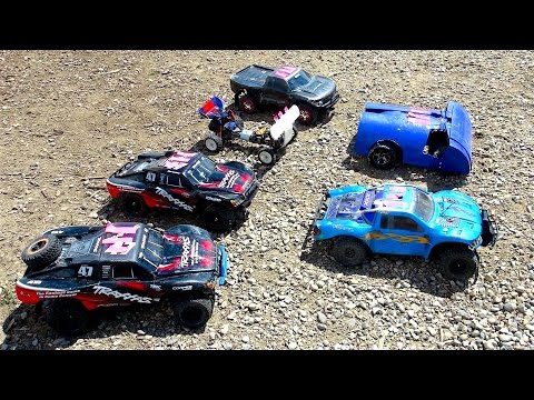 RC ADVENTURES - Rock 'em, Sock 'em Demolition Derby! PT 1- Open Class 2WD 1/10th Scale Electric