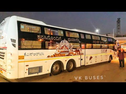 Brand New KSRTC VOLVO AMBARI DREAM CLASS SLEEPER BUS!!