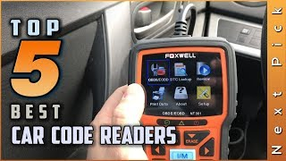 Top 5 Best Car Code Readers Review in 2021