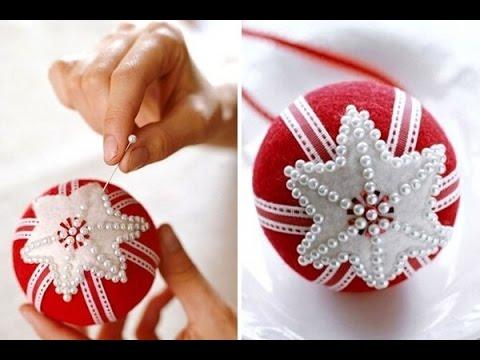 Как сделать Новогодний шар своими руками (Узнай секрет от дизайн-студии цветов - DelAmore) Выпуск 2