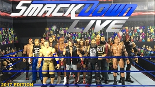 WWE SmackDown Live Roster 2017 | WWE FIGURE COLLECTION
