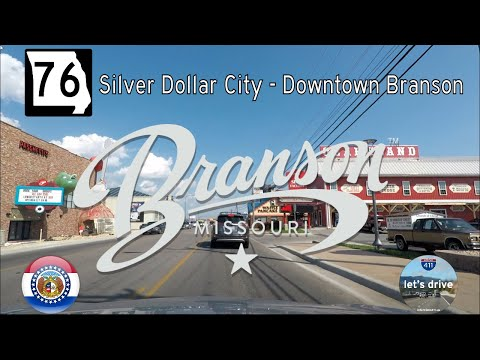 State Highway 76 - Silver Dollar City - Downtown Branson - Missouri |  Drive America's Highways 🚙