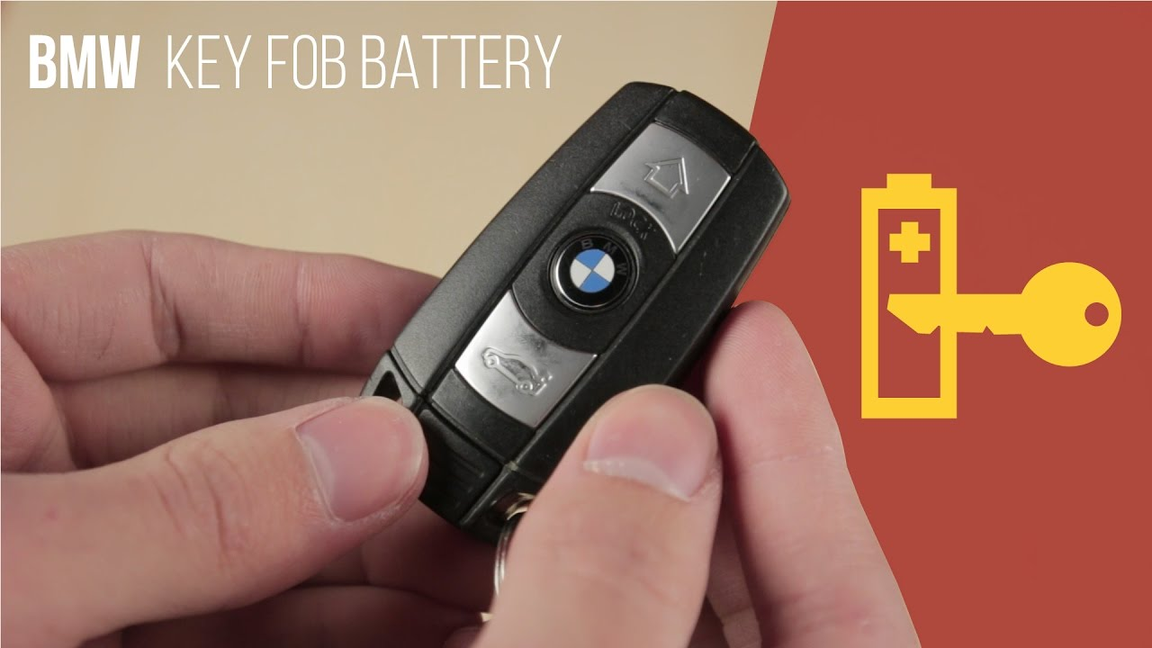Bmw Key Fob Replacement >> Bmw Key Fob Battery Replacement Comfort Access