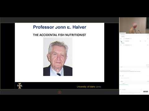The Role Of Nutritional Research In Aquaculture Ronald Hardy