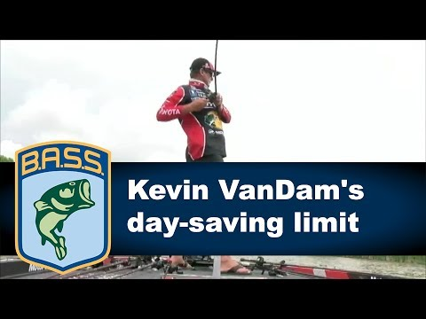 Kevin VanDam's day-saving limit on Day 2 at Dardanelle