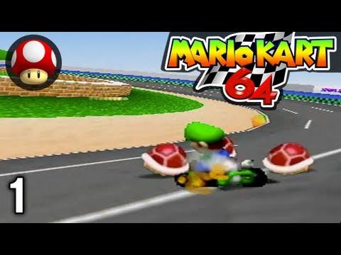 Stephen VS Mal - Mario Kart #1 - MK64 Mushroom Cup
