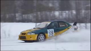 Maamurrit SM-Rallisprint Kuopio 4.2.2017 Crash & Action