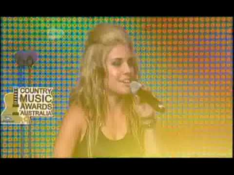 Jasmine Rae - Country Singer (Live) at Australian Country Music Awards 2009